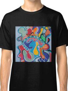 Colorful Swirls Classic T-Shirt