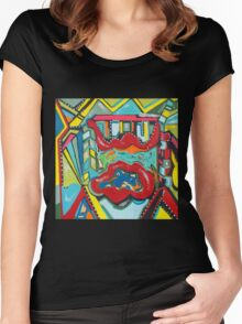 Pools of Emotion Women's Fitted Scoop T-Shirt