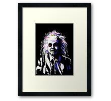 Say my name!...Bettlejuice Framed Print