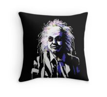 Say my name!...Bettlejuice Throw Pillow
