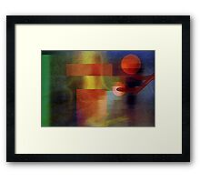 The F Factor Framed Print