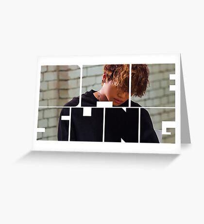 BIGBANG Daesung MADE Series Typography Greeting Card