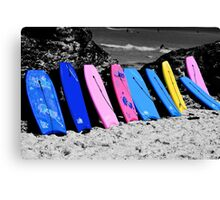 Boogie Boards Canvas Print