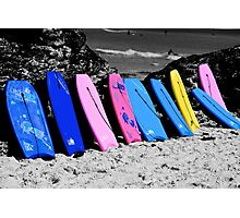 Boogie Boards Photographic Print