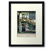 SC State Hospital Laundry Building Framed Print