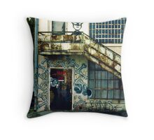 SC State Hospital Laundry Building Throw Pillow