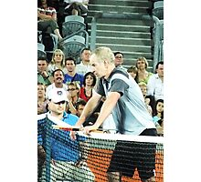 John McEnroe Tantrum Photographic Print