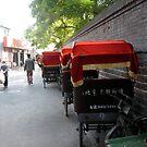 Hutong Rickshaw by Robert Ellis