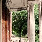Front Portico Babcock Building by ZeroAlphaActual