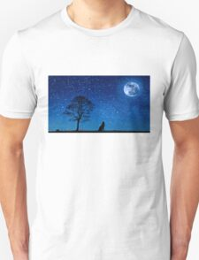 The lonely call of the wolf T-Shirt