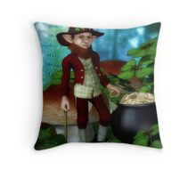 The Leprechaun Throw Pillow