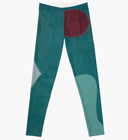 Cubic Shapes and Color Leggings