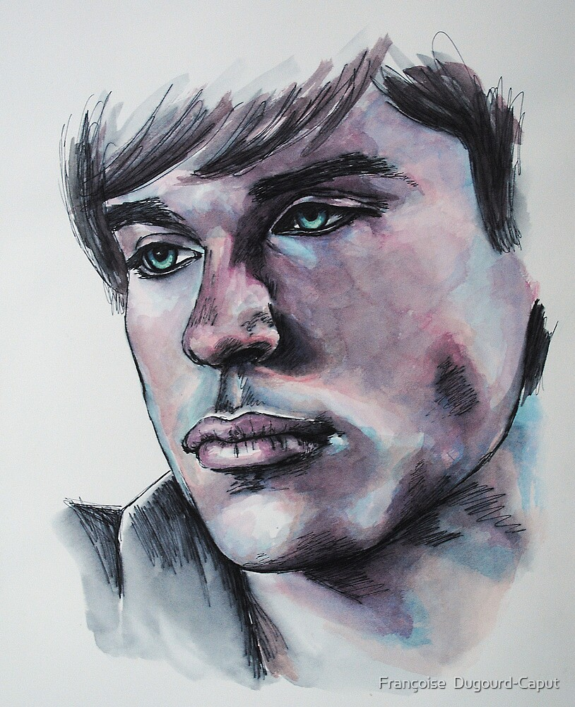 Portraits of Tom Welling, Clark Kent of Smallville-Featured in NoNudes Group and Virtual Museum Group, Just fun by Françoise  Dugourd-Caput