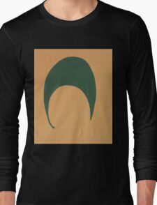 A Sliver of a Green Moon Long Sleeve T-Shirt
