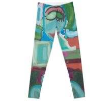 The Green Woman Cometh Leggings