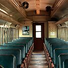 Old Train Interior by Larry Costales
