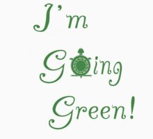 I'm Going Green Kids Clothes