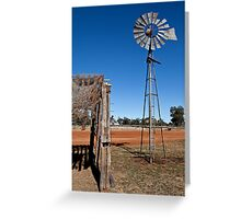 NSW Outback  Greeting Card