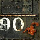 Detail of TrainWaterTanker by Larry Costales