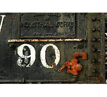 Detail of TrainWaterTanker Photographic Print