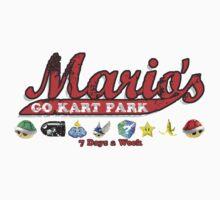 Mario's Go Kart Park Kids Clothes