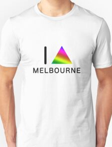 I TRIANGLE MELBOURNE Unisex T-Shirt