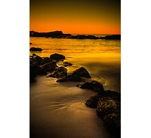 Main Beach at sunset, Robe Photographic Print