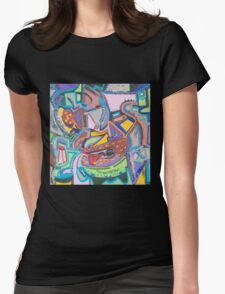 Town Hall Meeting Womens Fitted T-Shirt