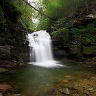 Big Falls - Tranquility by Tim Devine