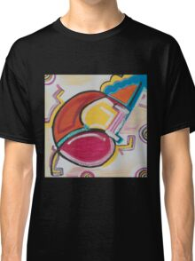 A Large Swirl with a Blue Smile Classic T-Shirt