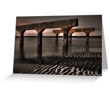 Beach Litter Greeting Card