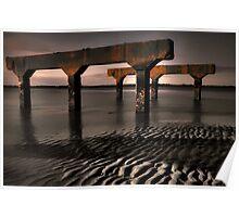 Beach Litter Poster