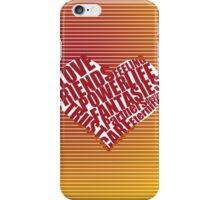 unique heart design iPhone Case/Skin