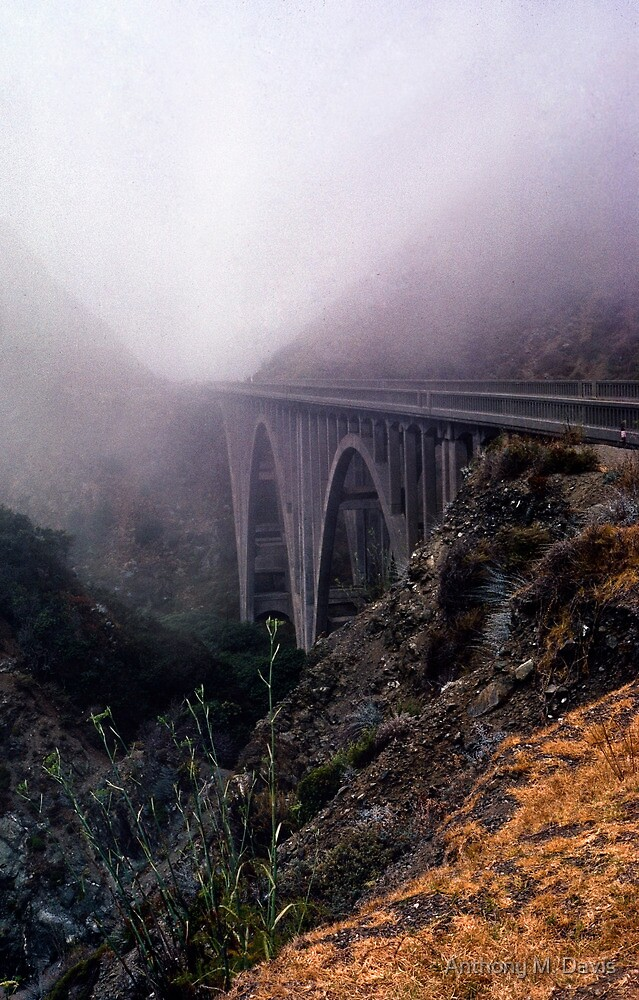 Bridge in Fog by Anthony M. Davis