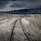 A long wait for a train by Mark Elshout
