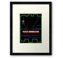 4-Bit Warrior Framed Print
