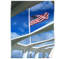 USS Arizona Memorial Poster
