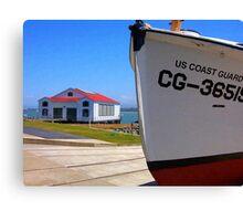 Coast Guard Station Canvas Print