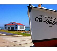 Coast Guard Station Photographic Print