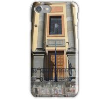 Facade of a Building iPhone Case/Skin
