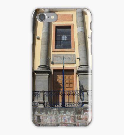 Facade of a Building iPhone Case/Skin