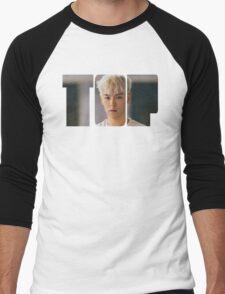 BIGBANG T.O.P MADE Series Typography Men's Baseball ¾ T-Shirt