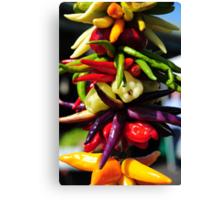 Pepper .. ? Canvas Print