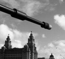 Guns Of Liverpool Sticker
