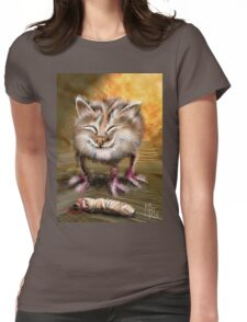 Kitty Thing T-Shirt Womens Fitted T-Shirt