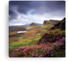 The Trotternish Ridge Canvas Print