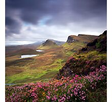 The Trotternish Ridge Photographic Print