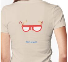 Where's my specs  TEE SHIRT/BABY GROW Womens Fitted T-Shirt