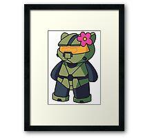 Halo Kitty Framed Print