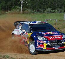 Sebastien Ogier SS12 Rally Australia by Elmacca